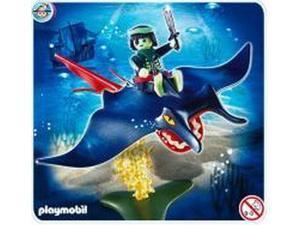 Stingray Rider Pirate Playmobil