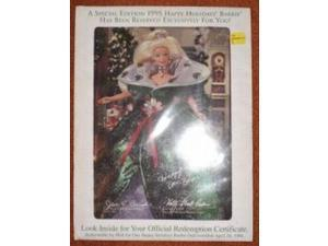 Mattel Happy Holidays 1995 Certificate