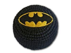Batman Black Logo Dc Comics Super Hero Hack Kick Knit Bag Sack
