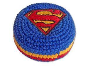 Super Man Dc Comics Hacky Sack Knit Kick Bag