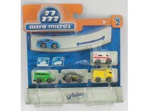Nitro Micros Micro Machine Series 2 5 Pack