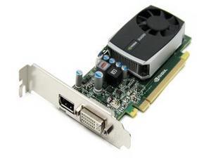 Dell Quadro 600 1GB 128-bit DDR3 Standard Height Workstation Video Card PWG0F