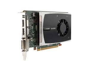 HP Quadro 2000 1GB 128-bit GDDR5 Standard Height Workstation Video Card 612952-003