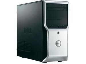 Dell Precision T1600 Workstation E3-1225 Quad Core 3.1Ghz 4GB 2TB DVDRW Q600 265W Win 7 Pro