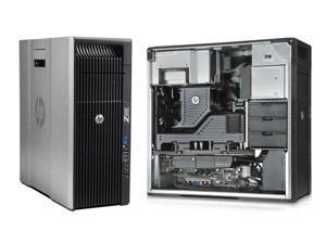 HP Z620 Workstation 2x E5-2670 Eight Core 2.6Ghz 96GB 256GB SSD 2TB DVDRW Quadro 4000 800W Win 7 Pro