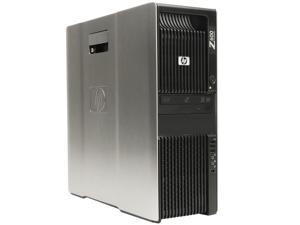 Refurbished: HP Z600 Workstation 1x X5570 Quad Core 2.93Ghz 12GB 2TB DVDRW FX580 650W Win 7 Pro