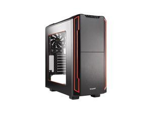be quiet! SILENT BASE 600 WINDOW ATX Mid Tower Computer Case - Red