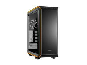 be quiet! DARK BASE PRO 900 ATX Full Tower Computer Chassis - Black/Orange