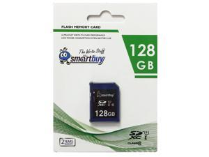 Smartbuy SD XC Class 10 Memory Card SDXC C10 Ultra U1 UHS-I HD Fast Speed for Camera (128GB - 1 Pack)