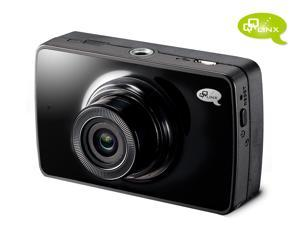 QQLinx Owl Eye Full HD 1080P Night Vision Car Dash Cam - 8GB Memory Card Included