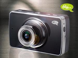 QQLinx Hawk Eye Dashboard Camera Recorder - Full HD 1080P, Hit & Record, Parking Monitor, WDR, G-sensor (8GB Memory Card Included)