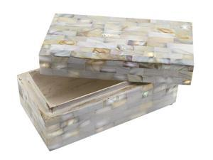 Rare Breed- Mother of Pearl Treasure Box (MSRP:$110)