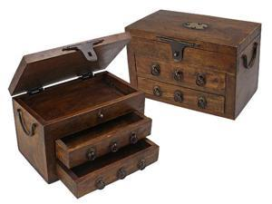 British Campaign- Vintage Mango Stationery Chest (MSRP:$100)