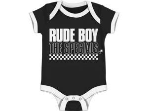 Specials Baby Boys' Rude Boy Bodysuit 12 - 18 Months Black