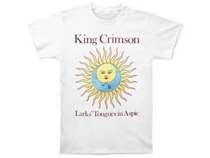 King Crimson Men's Larks' Tongues In Aspic White T-shirt Medium White