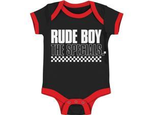 Specials Baby Boys' Rude Boy Bodysuit 3 - 6 Months Black