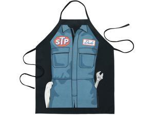STP Mechanic Apron Black