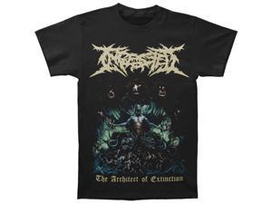 Ingested Men's The Architect Of Extinction T-shirt X-Large Black