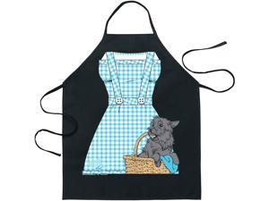 Wizard Of Oz Dorothy Apron Black