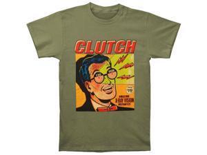 Clutch Men's X-Ray Vision Green T-shirt XX-Large Green