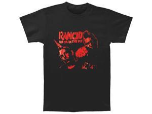 Rancid Men's Bootleg Series See Ya In The Pit T-shirt X-Large Black