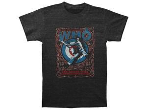 Who Men's Singer Bowl Stomp Slim Fit T-shirt X-Large Heather