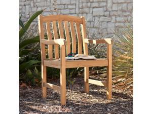 Amagansett Teak Arm Chair - Unstained