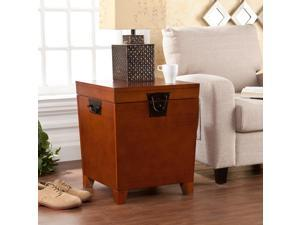 Ryder End Table Trunk - Mission Oak