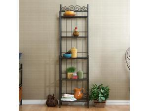 Pyrenees Bakers Rack - Gunmetal Gray