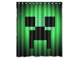 "Hot Game Minecraft 08 Pattern Polyester Fabric Shower Curtain, 60"" By 72"""
