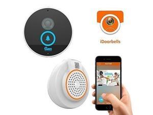 Coolcam Wi-Fi Video Doorbell, Weather resistant, HD IP Camera, Door Chime, Built in 8G TF Card,2-Way Audio