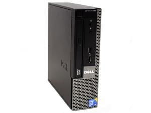 Dell OptiPlex 780 USFF Desktop Intel Core 2 Duo E8400 3.0GHz  4GB DDR3 RAM 160GB HD DVD-RW WiFi Bluetooth Microsoft Windows 7 Professional 64-Bit