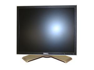 "Dell UltraSharp 1708fp Silver/Black Flat Panel 17"" Screen  LCD DVI/VGA Monitor 1280 x 1024 Native Resolution 300cd/m2 Brightness 800:1 Contrast Ratio USB Hub and Adjustable Stand"