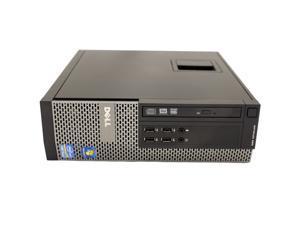Dell OptiPlex 990 SFF Desktop Intel Quad-Core i5 2400 3.10 GHz 8GB DDR3 RAM 128 GB SSD DVDRW WiFi Bluetooth Windows 7 Professional 64-Bit
