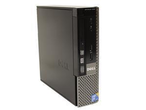 Dell OptiPlex 7010 USFF Desktop Intel Quad i5-3470s 2.9GHz 8GB DDR3 RAM 320GB HD DVD-RW WiFi Bluetooth Microsoft Windows 7 Professional 64-Bit