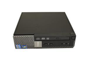 Dell OptiPlex 990 USFF Desktop Intel Quad-Core i5 CPU 4GB DDR3 RAM 128 GB SSD DVDRW WiFi Windows 7 Professional 64-Bit