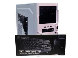 Custom ThermalTake Gaming PC AMD FX 6300 6-Core 3.5GHz XFX AMD Radeon HD6670 1GB HDMI GDDR3 16GB Corsair Vengeance DDR3 256SSD 1TB HD Dual DVD-RW WiFi Microsoft Windows 10 Professional 64-Bit