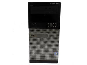 Dell OptiPlex 9010 Mini Tower Desktop 3rd Gen Intel Core i5-3570 3.4GHz 8GB RAM 256GB SSD DVD-RW Windows 7 Professional 64-Bit