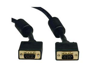 TRIPP LITE P502-010 SVGA HIGH-RESOLUTION RGB MONITOR CABLE (REPLACEMENT CABLE), 10 FT)