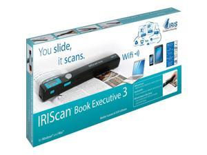 I.R.I.S. IRIScan Book 3 Executive Handheld Scanner - 900 dpi Optical