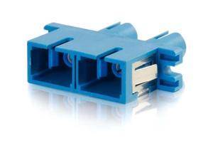 C2G SC/ST Duplex Single Mode Fiber Coupler