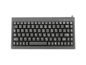Solidtek Mini 88 Keys POS Keyboard Black PS/2 KB-595BP
