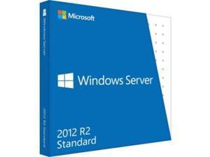 Microsoft Windows Server 2012 R.2 Standard 64-bit - License and Media - 2 Processor