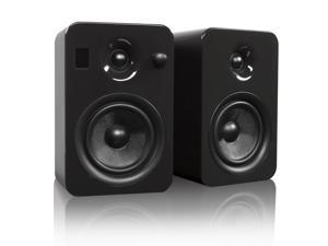 Kanto YUMIGRYGL Powered Bookshelf Speakers with Bluetooth Technology (Gloss Grey Tungsten)