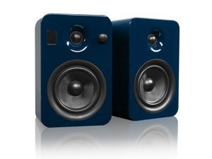 Kanto YUMIBLUGL Powered Bookshelf Speakers with Bluetooth Technology (Gloss Blue Ocean)