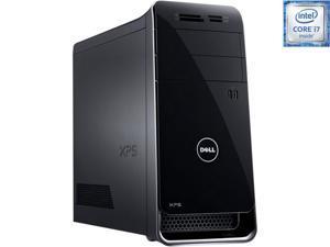 DELL Desktop Computer XPS x8900-7944BLK Intel Core i7 6th Gen 6700K (4.00 GHz) 24 GB DDR4 2 TB HDD 256 GB SSD NVIDIA GeForce GTX 960 2 GB Windows 7 Professional 64bit