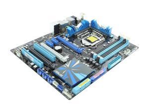 ASUS P7P55D Deluxe LGA 1156 Intel P55 ATX Intel Motherboard