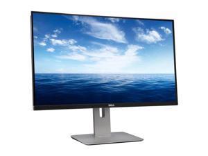 "Dell U2715H Black 27"" 2K Widescreen LCD IPS Monitor, 2560 x 1440, 1000:1, 350cd/m2, HDMI&USB Display Port, Height, Swivel, Tilt"