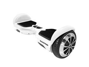 Swagtron T1 Hoverboard - World's First UL2272 certified Hands Free Two Wheel Self Balancing Electric Scooter -White