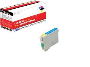 OWS® 1PK Compatible Ink Cartridge for Epson T0782 Cyan Compatible Ink For Epson R260 R280 R380 RX580 RX595 RX680